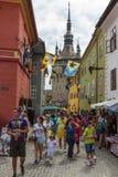 cytadeli Romania sighisoara zdjęcie royalty free
