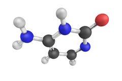 Cytosin, eine der vier Hauptbasis fand in DNA und in der RNS Es ist Stockbilder