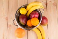 Cytrusów banany i owoc Zdjęcie Stock