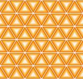 Cytrusów kolorowi trójboki ilustracja wektor