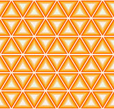 Cytrusów kolorowi trójboki Obraz Royalty Free