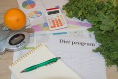 Cytrusów owoc i warzywo Pojęcie ciężar strata Zdrowa styl życia dieta z świeżymi owoc Obraz Stock