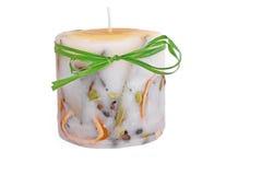 Cytrus handmade świeczka Zdjęcie Stock
