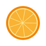 cytrus owoc ikony odizolowywający projekt Zdjęcie Royalty Free