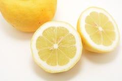 Cytrus owoc koloru żółtego cytryna Zdjęcia Royalty Free