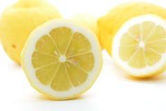 Cytrus owoc koloru żółtego cytryna Zdjęcie Royalty Free