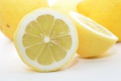 Cytrus owoc koloru żółtego cytryna Fotografia Royalty Free