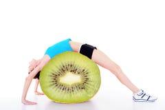 cytrusa świeża owoc kobieta Obrazy Royalty Free