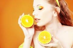 cytrusa makeup fotografia royalty free
