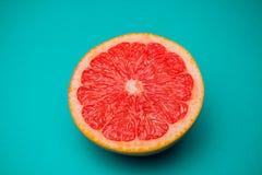 Cytrusa odosobniony grapefruitowy świeży zdjęcia royalty free