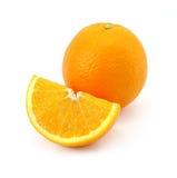 cytrusa owoc odosobniony pomarańczowy biel Obrazy Royalty Free