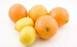 cytryn pomarańcze Obraz Stock