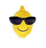 cytryna śmieszni okulary przeciwsłoneczne Obrazy Royalty Free