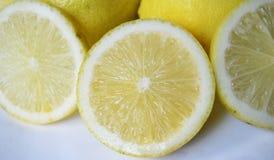Cytryna - kolor żółty Obrazy Royalty Free