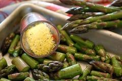 Cytryna Pieprzowy asparagus Zdjęcie Stock