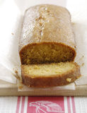 cytryna tortowy bochenek zdjęcie stock