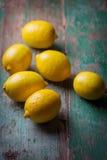 cytryny świeże Zdjęcia Stock