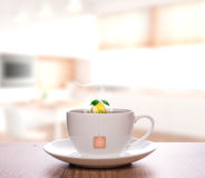 Cytryny herbata Zdjęcie Royalty Free