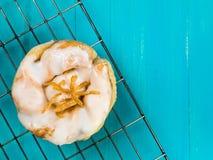 Cytryny i sułtanu ciasta Duńska babeczka Zdjęcia Royalty Free