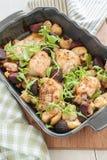 Cytryny macierzanki kurczak Fotografia Stock