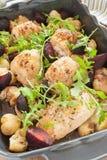 Cytryny macierzanki kurczak Zdjęcie Stock