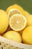 cytryny organiczne Zdjęcia Royalty Free