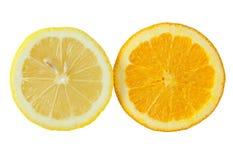 cytryny pomarańcze zdjęcia royalty free