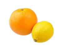 cytryny pomarańcze Obraz Stock
