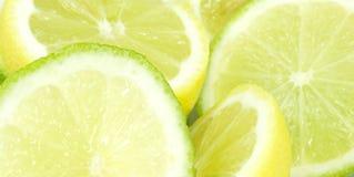 cytryny wapno Obrazy Stock