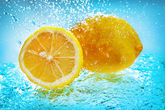 cytryny woda Zdjęcie Stock
