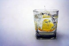 cytryny wody Fotografia Royalty Free