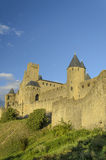 Cytujący Carcassonne Obrazy Royalty Free