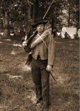Cywilna wojna Reenactor Fotografia Stock