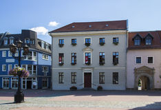Cywilny archiwum biuro w Crimmitschau, Niemcy, 2015 zdjęcia royalty free