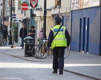 Cywilny egzekwowanie oficer w Londyn zdjęcia stock