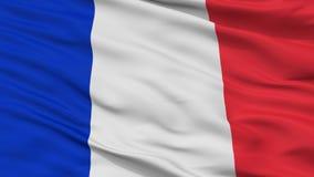 Cywilny I Morski chorąży Francja flaga zbliżenia widok ilustracja wektor