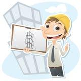 Cywilny inżynier ilustracji