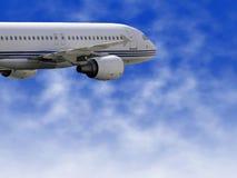 cywilny samolot Zdjęcia Royalty Free