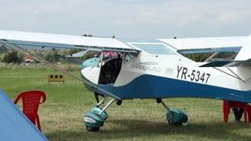 Cywilny 2 siedzeń samolot zbiory