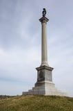 Cywilny Wojenny pomnik w Gettysburg obywatela polu bitwy Fotografia Stock