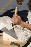 cyzelowania drewno Obraz Royalty Free