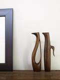 cyzelowania drewno Fotografia Royalty Free