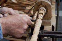 cyzelowania drewno Zdjęcie Royalty Free