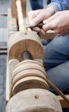 cyzelowania drewno Fotografia Stock