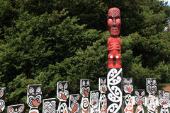 cyzelowania maoryjscy Zdjęcie Stock