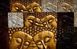 cyzelowania miejscowego stylu tajlandzki drewno Zdjęcie Stock