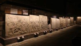 Cyzelowania w muzeum Anatolian cywilizacje, Ankara fotografia royalty free