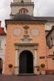 CzÄ™stochowa Polska - sanktuarium przy Jasna GÃ ³ akademiami królewskimi obrazy stock