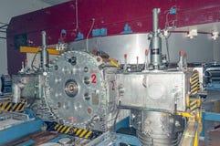 Cząsteczka akcelerator przy CERN fotografia stock
