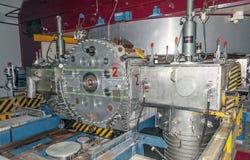 Cząsteczka akcelerator przy CERN obraz stock